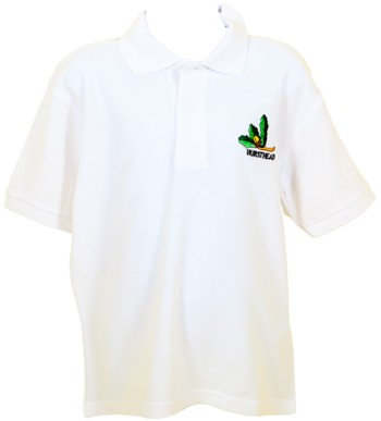 hursthead school polo shirt