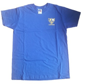 lane end school p.e. shirt