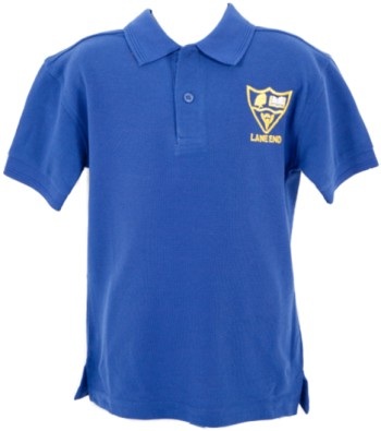 lane end school polo shirt
