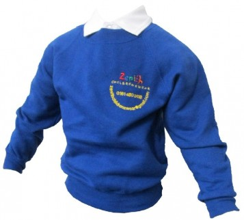Royal Sweatshirt with Colours